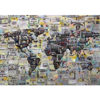 "Modern Original Artwork, ""Geobond #5"" by Fabio Coruzzi For Sale"