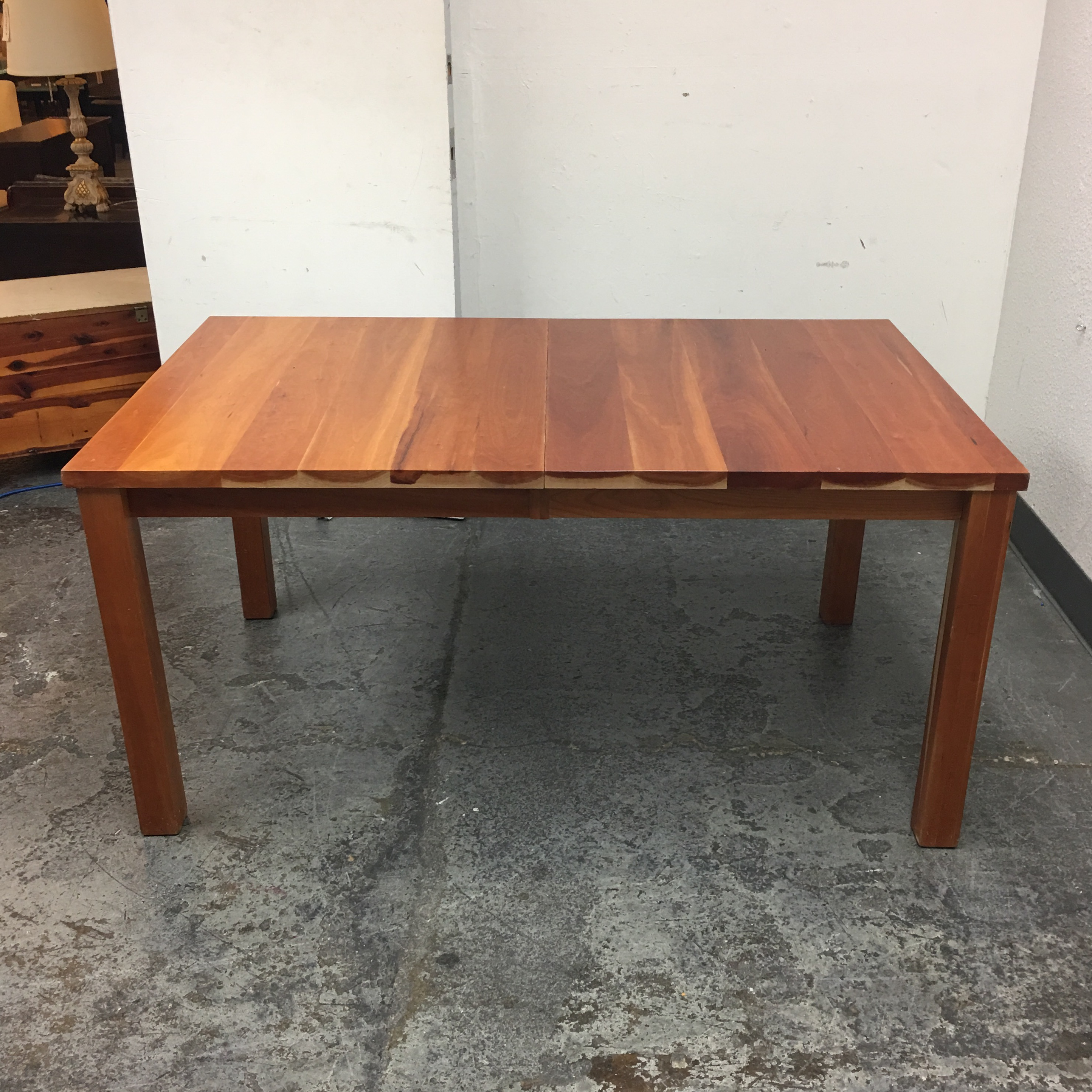room & board andover solid cherry dining table | chairish Cherry Dining Table