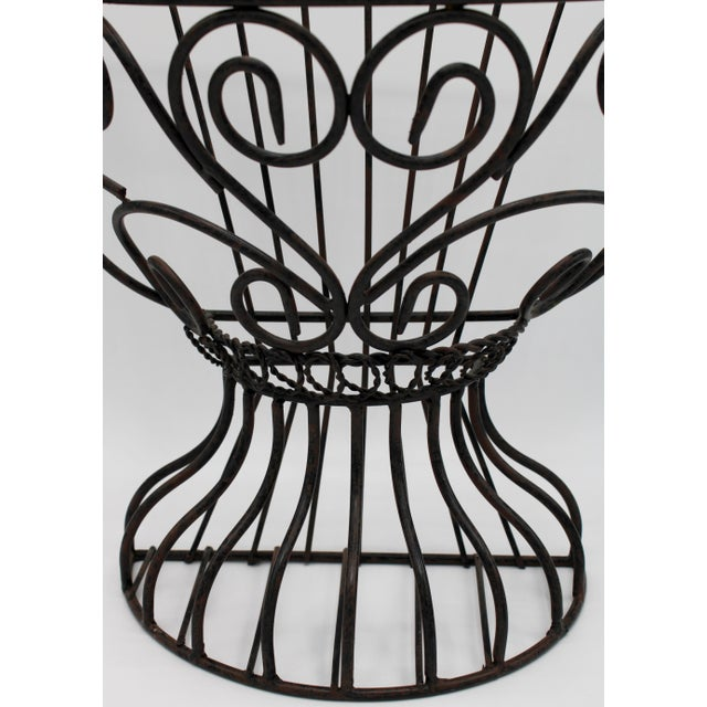 1960s French Garden Wall Jardiniere For Sale - Image 5 of 12