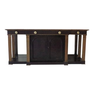Rare Sideboard or Console Table by Edward Wormley for Dunbar For Sale