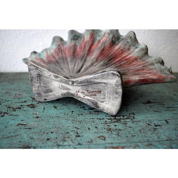 Vintage Hedi Schoop Seashell Vase Chairish
