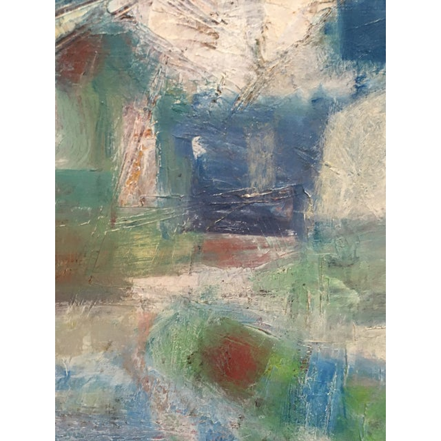 Segal Scandinavian Modern Abstract Painting - Image 7 of 9