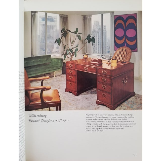 Williamsburg Reproductions - Interior Designs for Today's Living 1973 For Sale In Boston - Image 6 of 7