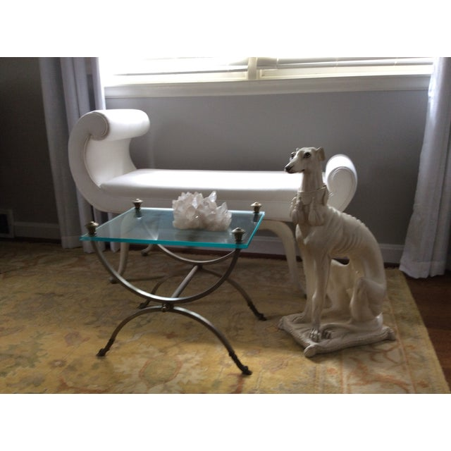 1970s Mid-Century Italian Pottery Greyhound For Sale - Image 12 of 13