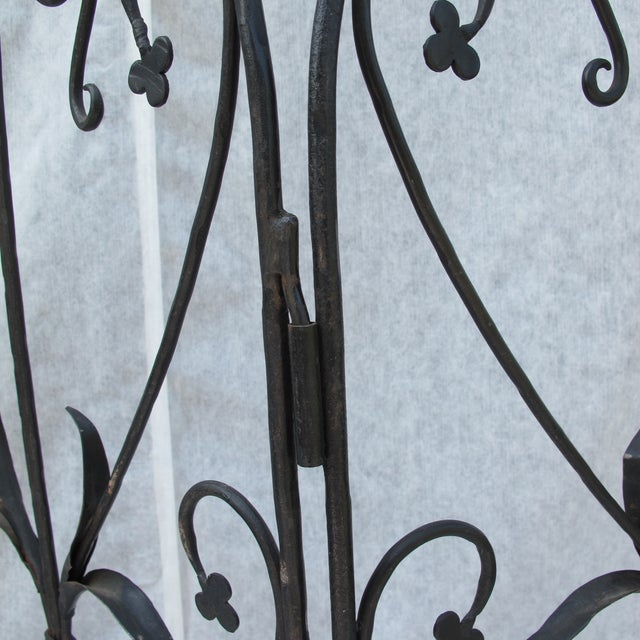 Early 20th-C. Wrought Iron Screen - Image 7 of 9