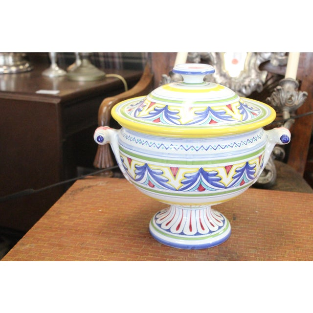 Mid 20th Century Italian Tureen For Sale In New York - Image 6 of 9