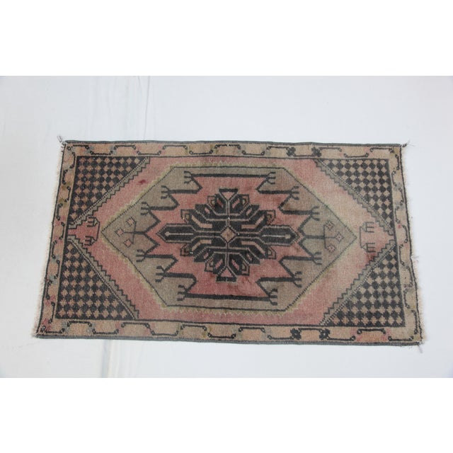 This is a beautiful pastel color handmade Turkish carpet. The piece is from Konya city. The age of this sweet carpet is...