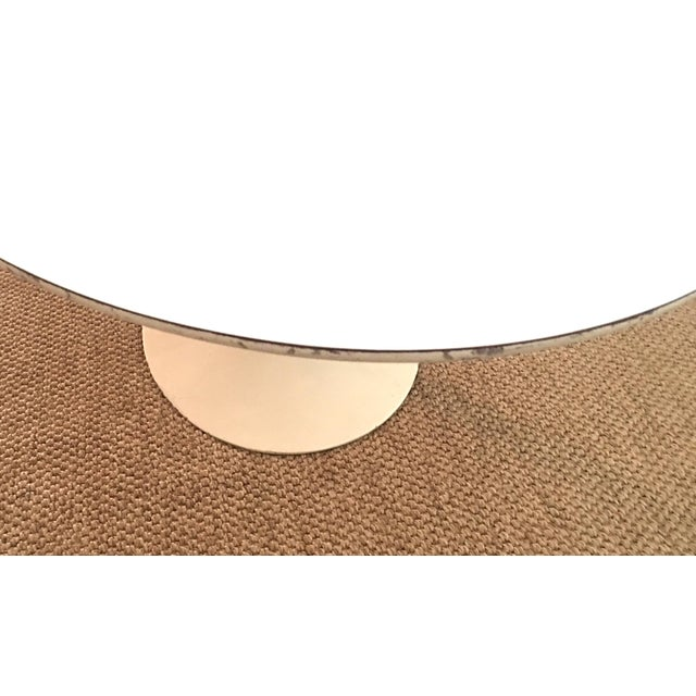 White 1960's Early Saarinen for Knoll Oval Tulip Dining Table For Sale - Image 8 of 11