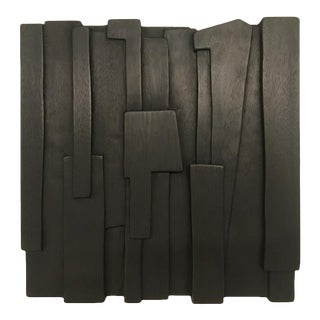 """Blockbuster #5"" Wall Sculpture by Eben Blaney For Sale"