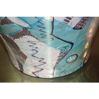 Amadio Smith Large Raku Covered Pot, 1988 Preview