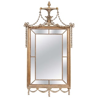 English Regency Adam Style Giltwood Mirror, circa 1815 For Sale