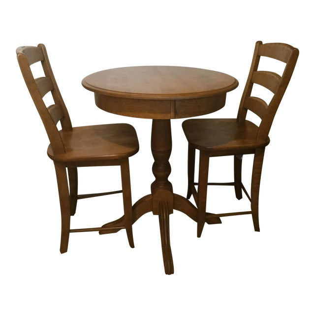 Solid Birch Kitchen Dining Set - Image 1 of 8