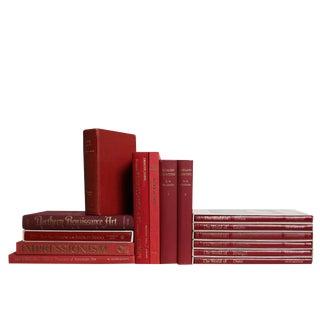 Crimson Art History Book Set For Sale