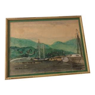 Wren Byone Nautical Painting on Canvas