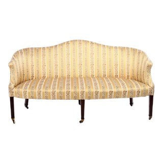 English Regency Camelback Sofa, circa 1795 For Sale