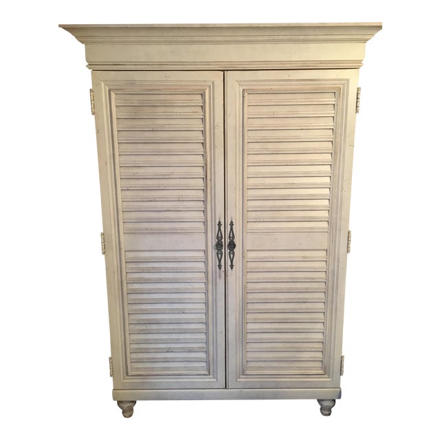 Tommy Bahama Louvered Door Armoire - Image 1 of 4