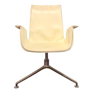 Preben Fabricius and Jørgen Kastholm Mid Century Modern Chair For Sale