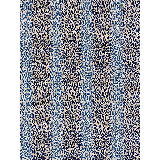 Scalamandre Corbet Jacquard, Blue For Sale
