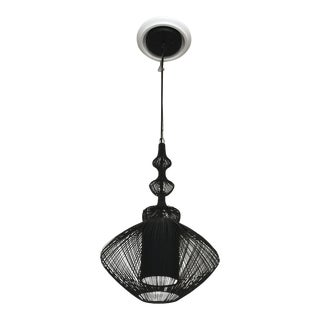 Black Forestier Opium Pendant Lamp For Sale