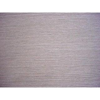Lee Jofa Rana Pewter Metallic Lasso Tweed Weave Upholstery Fabric- 8 Yards For Sale