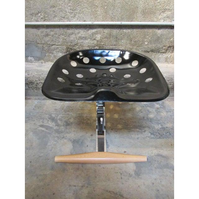 Industrial Mezzadro Stool by Achille Castiglioni for Zanotta For Sale - Image 3 of 5