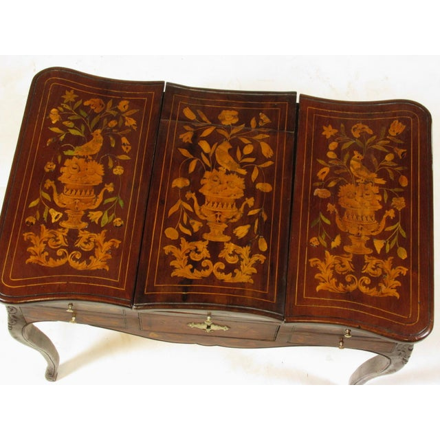 19th Century French Marquetry Podruse For Sale - Image 4 of 13