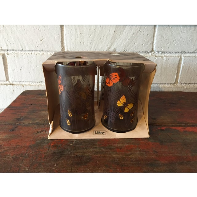 Libbey Butterfly Tumblers- Set of 4 - Image 2 of 5