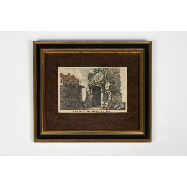 Four 18th Century Classical Prints of Rome For Sale - Image 4 of 7