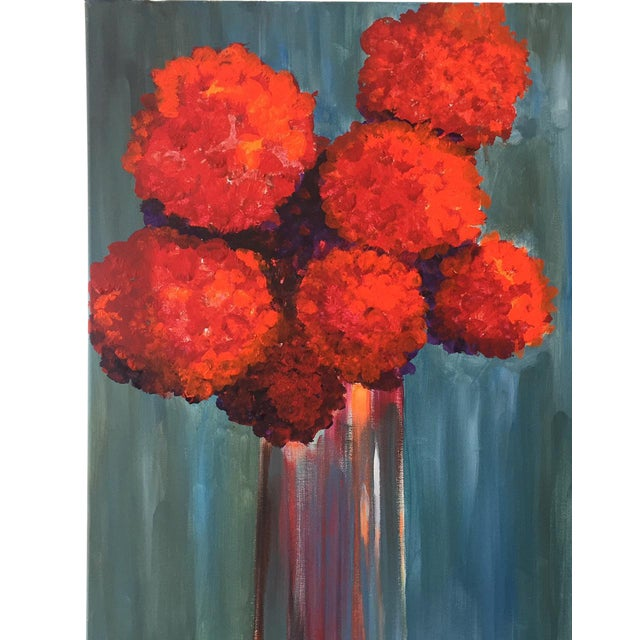 """""""All About Red"""" Painting - Image 1 of 3"""