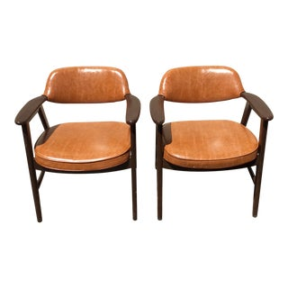 Vintage Mid Century Paoli Lounge Chairs - A Pair For Sale