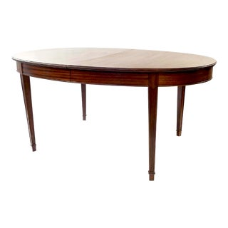 Mid-Century Scandinavian Mahogany Dining Table - Frits Hennigsen For Sale