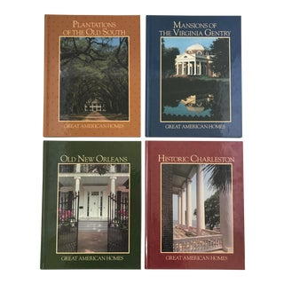 """""""Great American Homes"""" Book Collection - Set of 4"""