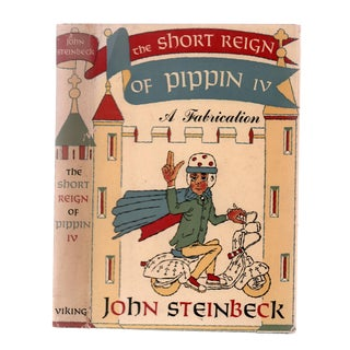 """1957 """"First Edition, the Short Reign of Pippin Iv: A Fabrication"""" Collectible Book For Sale"""