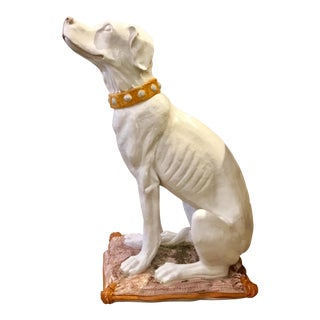 Vintage Italian Terracotta Dog For Sale