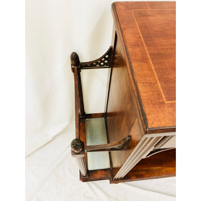 Vintage Entry Way Table For Sale - Image 9 of 12