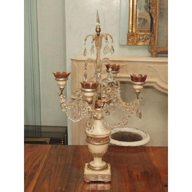 Belle Epoque Girandole Candelabras Pair For Sale - Image 3 of 10