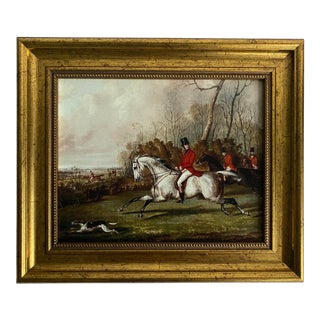 Tally Ho Reproduction Fox Hunting Print For Sale
