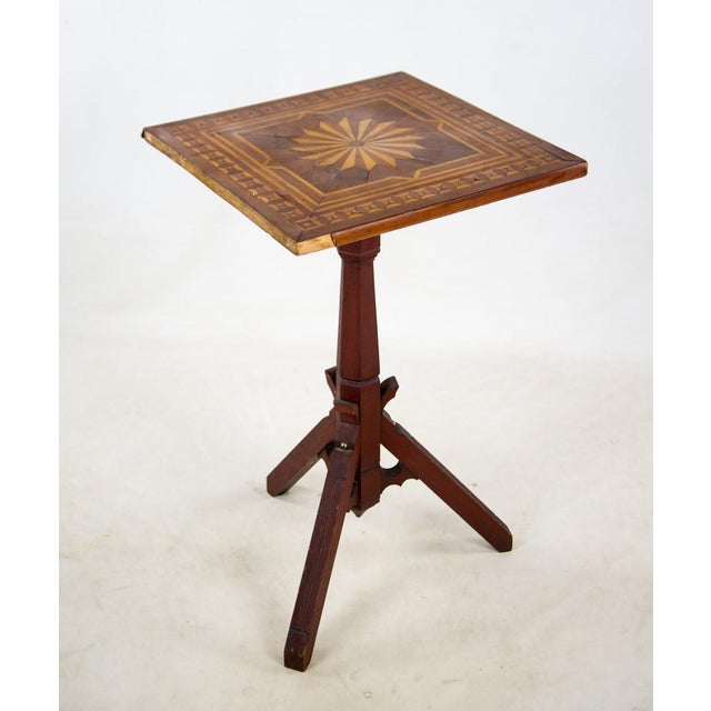 This late 19th c. Victorian tilt-top occasional table has just the right amount of artistic sophistication and style. The...