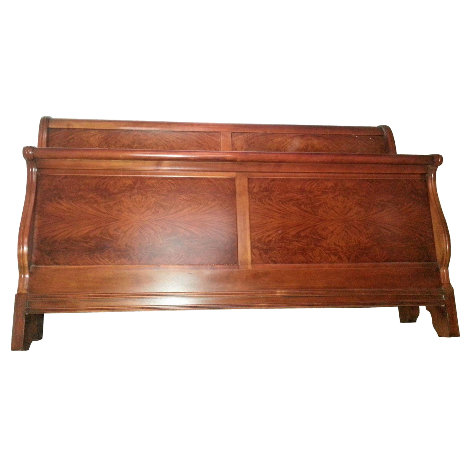 Drexel Mahogany California King Bed Frame   Image 1 Of 9