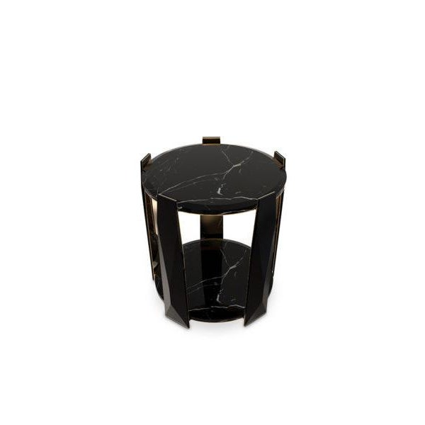Art Deco Imperium Side Table From Covet Paris For Sale - Image 3 of 5