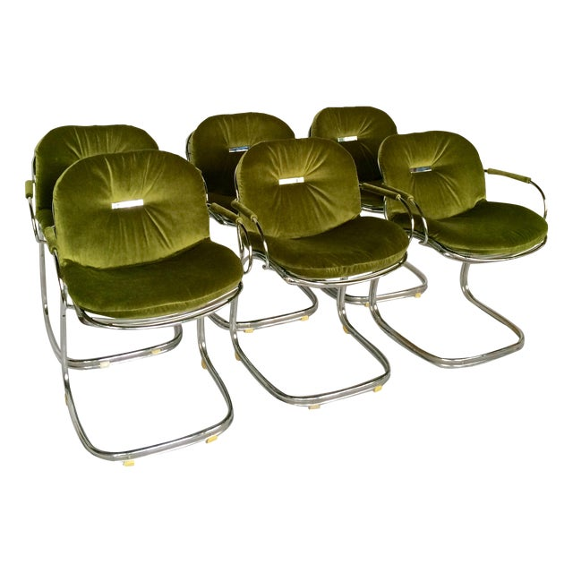 Sabrina Chairs by Gastone Rinaldi - S/6 - Image 1 of 9