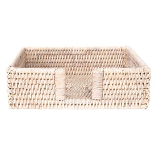 Artifacts Rattan Napkin Holder For Sale