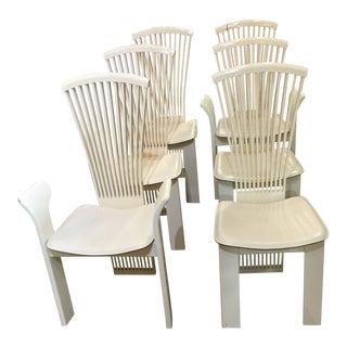 1970s Vintage Fabulous Italian Pietro Constantine Chairs- Set of 6 For Sale