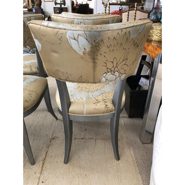 Custom Klismos Dining Chairs - Set of 8 For Sale - Image 10 of 12