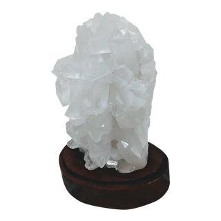 Quartz Crystal Cluster on Base For Sale