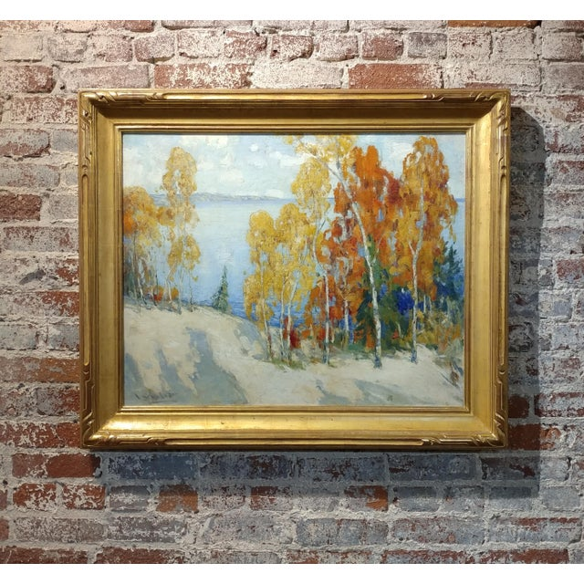 Isabel Hunter - Beautiful Carmel Landscape-California Impressionist-Oil painting For Sale - Image 10 of 10
