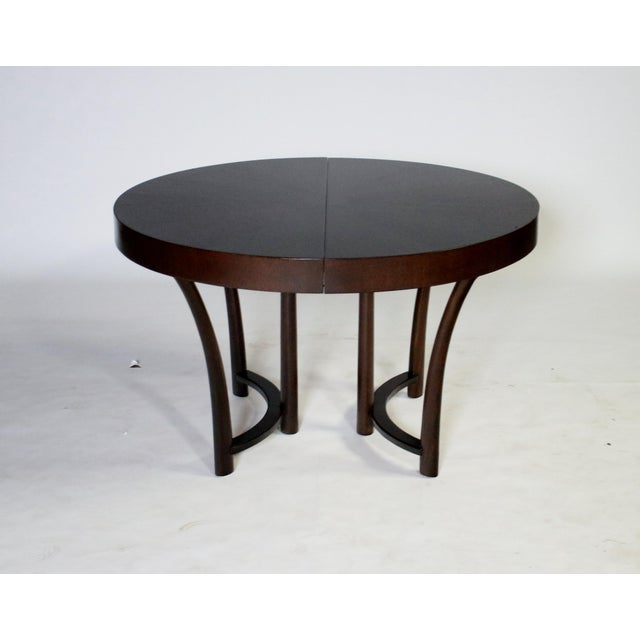 Widdicomb t.h. Robsjohn Gibbings Expandable Dining Table For Sale - Image 4 of 9