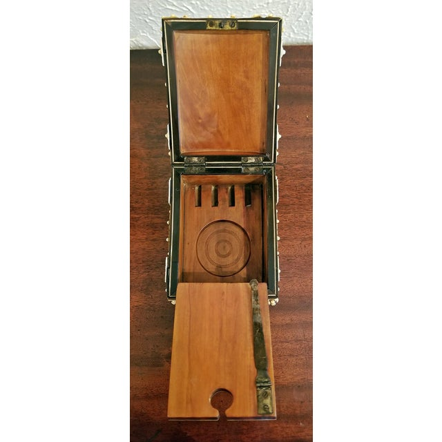 18th Century Anglo-Indian Vizigapatam Pocket Watch Display Box For Sale - Image 9 of 13