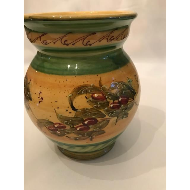 Rustic French Signed & Handmade Vase - Image 4 of 6