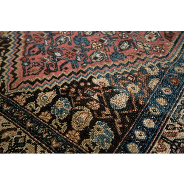 """Vintage Persian Malayer Rug - 3'8"""" X 5'6"""" - Image 8 of 8"""